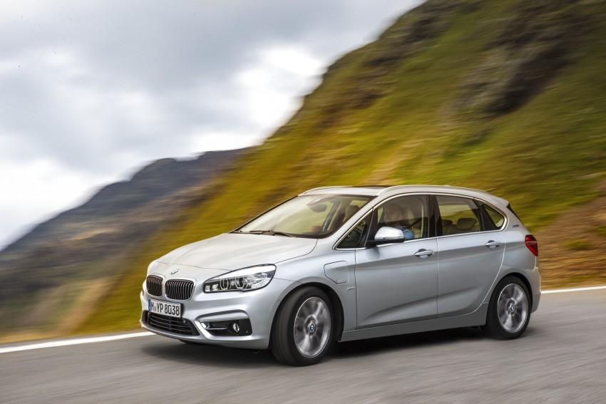 F45 BMW 225xe Active Tourer Plug-in Hybrid debuts Image #374843