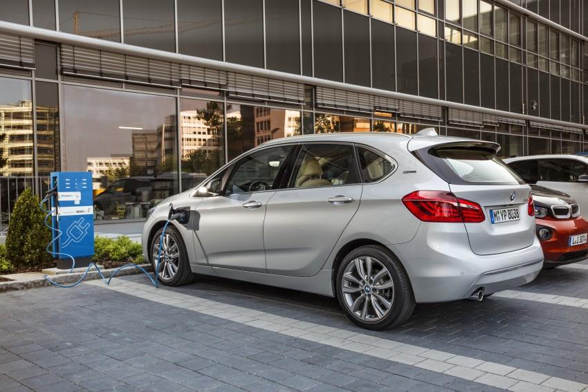 F45 BMW 225xe Active Tourer Plug-in Hybrid debuts Image #374845