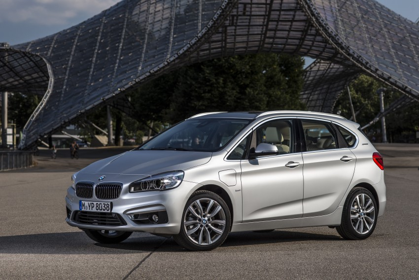 F45 BMW 225xe Active Tourer Plug-in Hybrid debuts Image #374851
