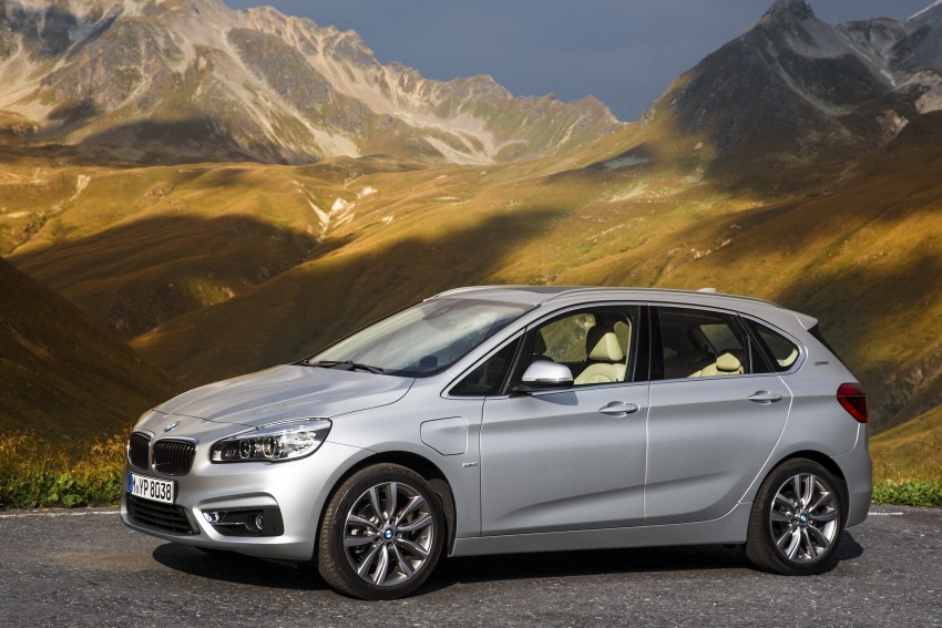 F45 BMW 225xe Active Tourer Plug-in Hybrid debuts Image #374854