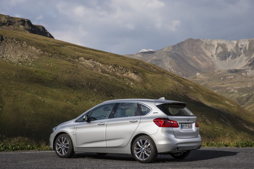 F45 BMW 225xe Active Tourer Plug-in Hybrid debuts Image #374857