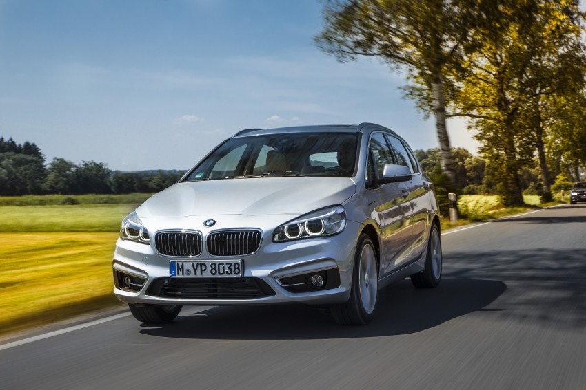 F45 BMW 225xe Active Tourer Plug-in Hybrid debuts Image #374860