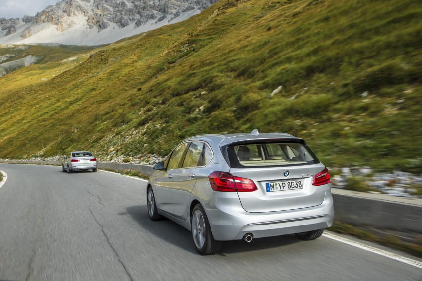 F45 BMW 225xe Active Tourer Plug-in Hybrid debuts Image #374865