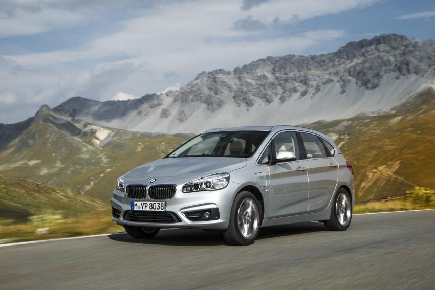 F45 BMW 225xe Active Tourer Plug-in Hybrid debuts Image #374866