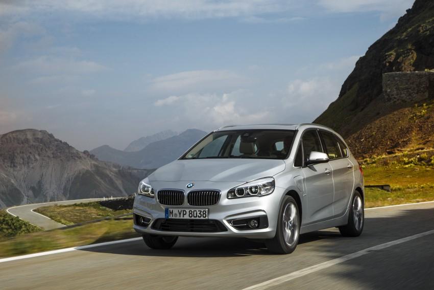 F45 BMW 225xe Active Tourer Plug-in Hybrid debuts Image #374867