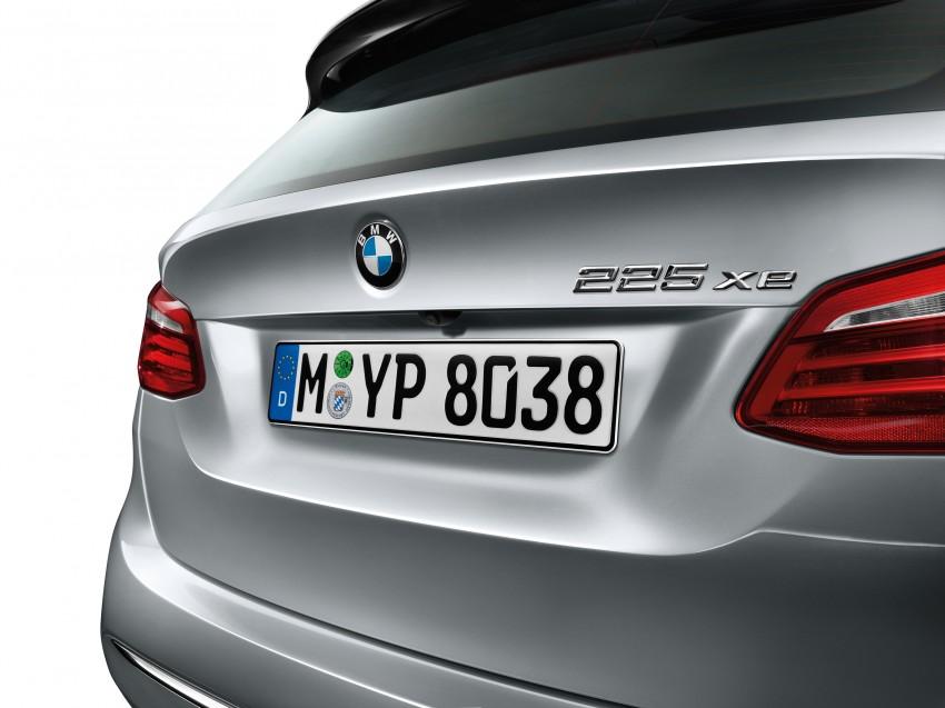 F45 BMW 225xe Active Tourer Plug-in Hybrid debuts Image #374823