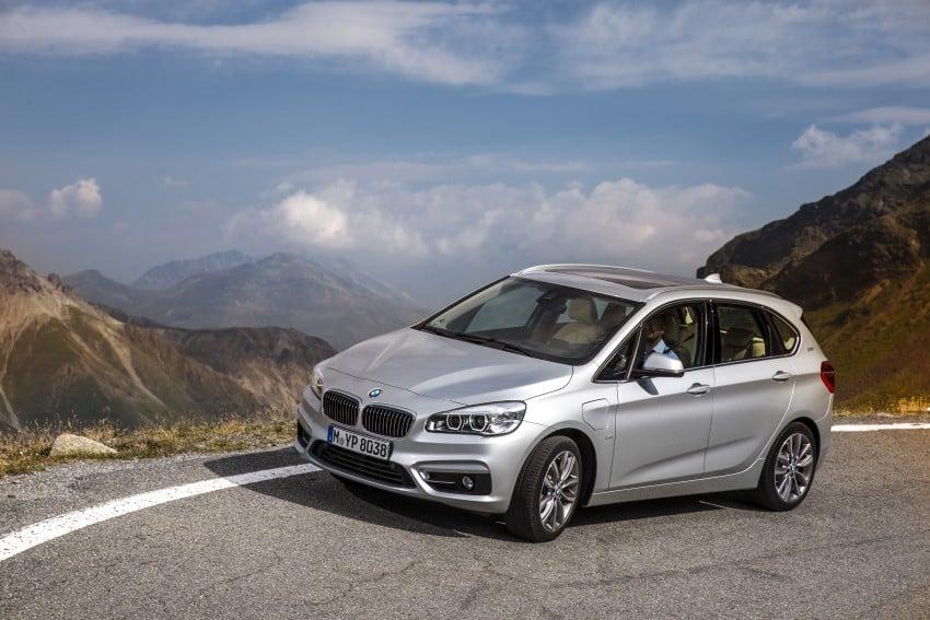 F45 BMW 225xe Active Tourer Plug-in Hybrid debuts Image #374868