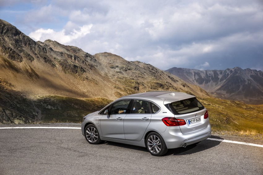 F45 BMW 225xe Active Tourer Plug-in Hybrid debuts Image #374869