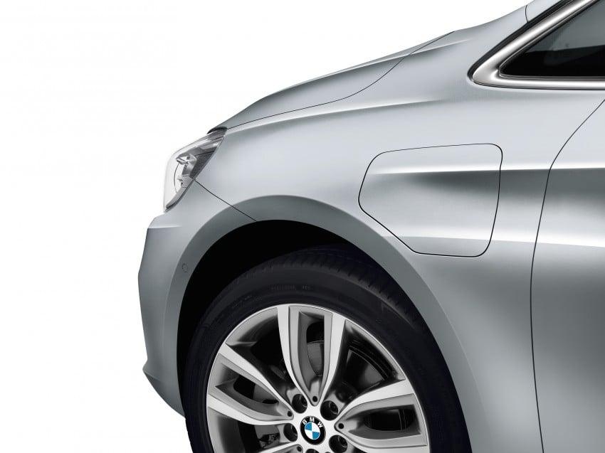 F45 BMW 225xe Active Tourer Plug-in Hybrid debuts Image #374826
