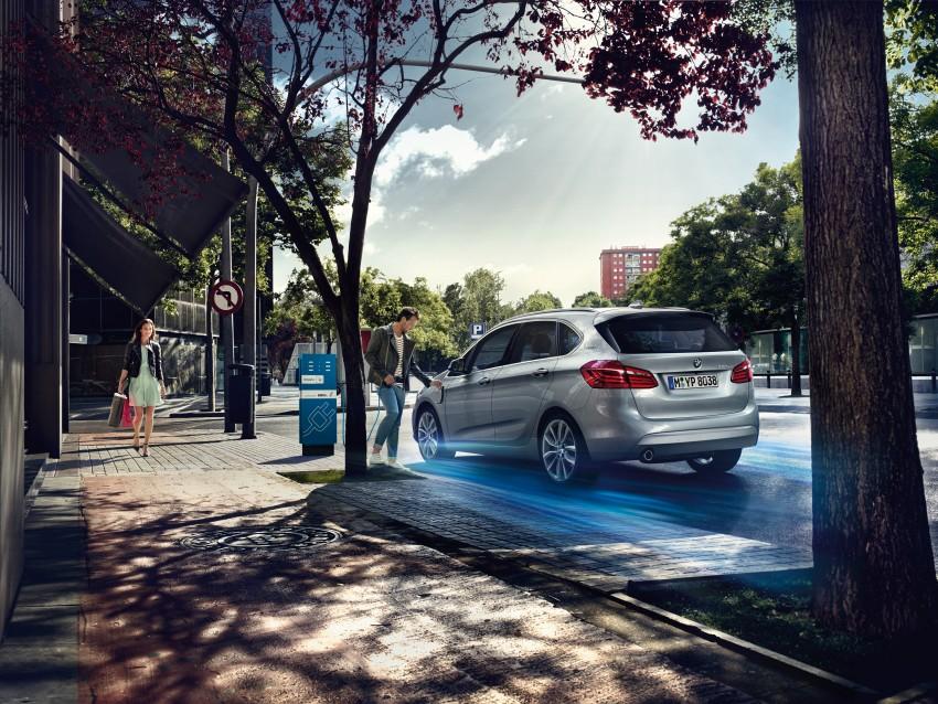 F45 BMW 225xe Active Tourer Plug-in Hybrid debuts Image #374827