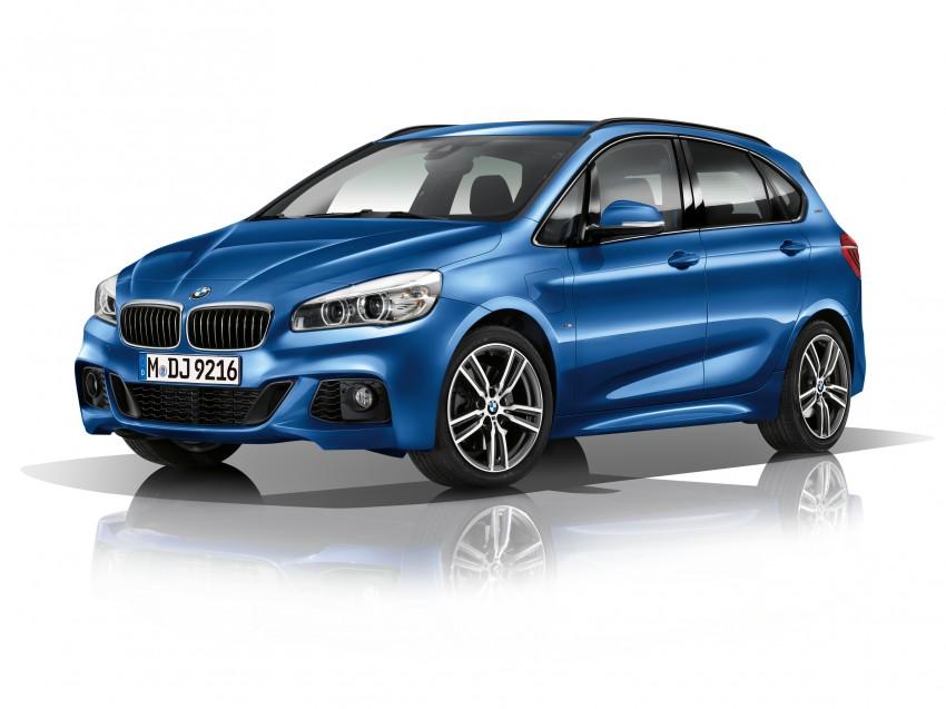 F45 BMW 225xe Active Tourer Plug-in Hybrid debuts Image #374829