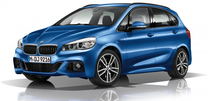 F45 BMW 225xe Active Tourer Plug-in Hybrid debuts Image #374887