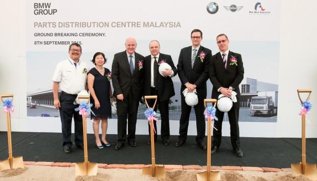 BMW Parts Distribution Centre Groundbreaking ceremony 2