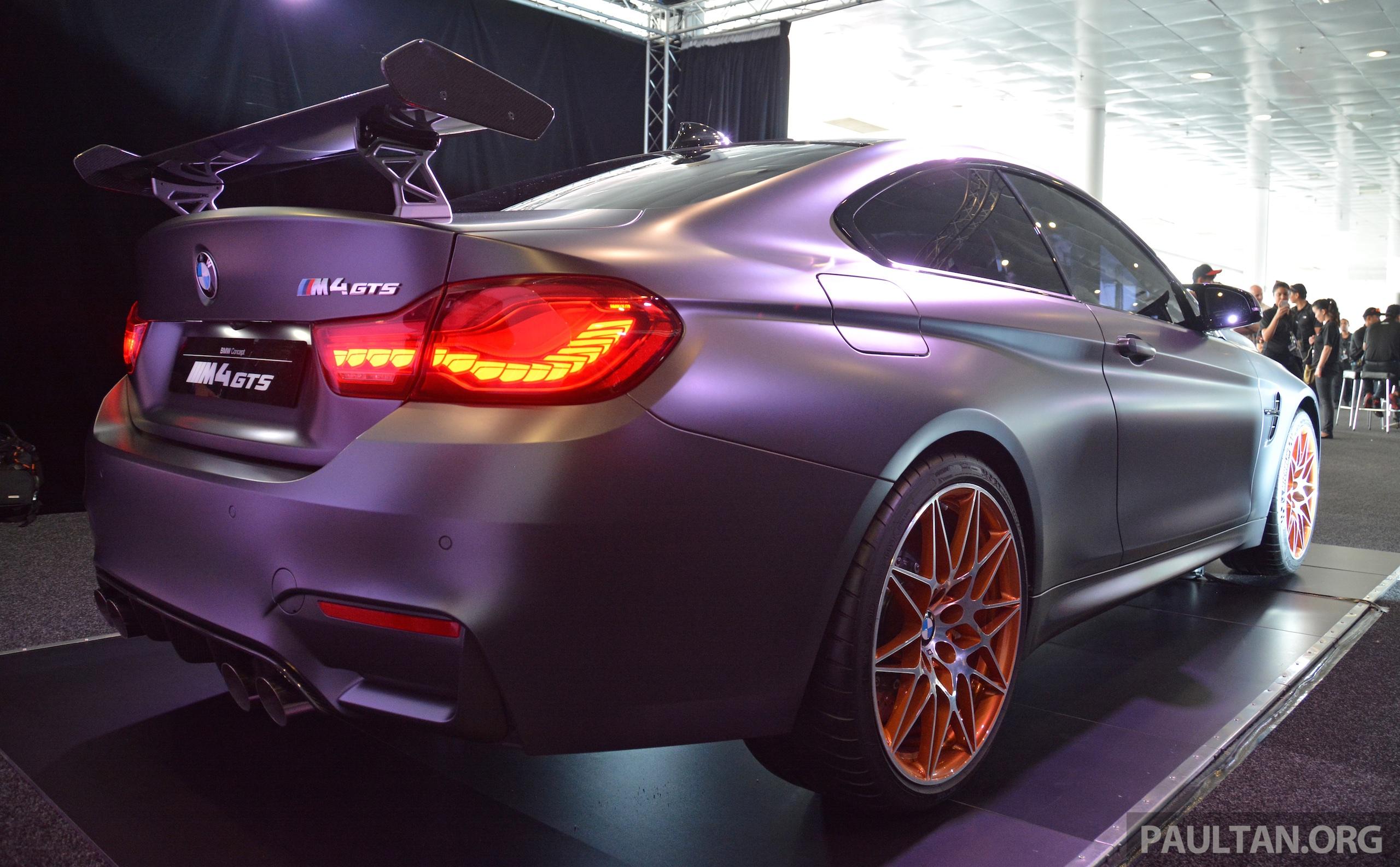 Bmw Concept M4 Gts On Display In Malaysia Paul Tan Image 381569