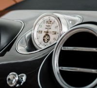 turbillon clock in bentayga