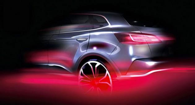 Borgward SUV sketch