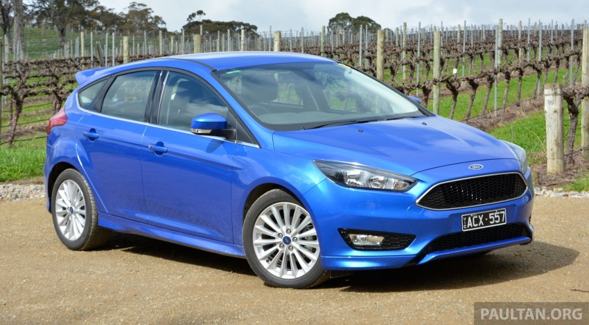DRIVEN: C346 Ford Focus 1.5L EcoBoost in Adelaide Image #377319