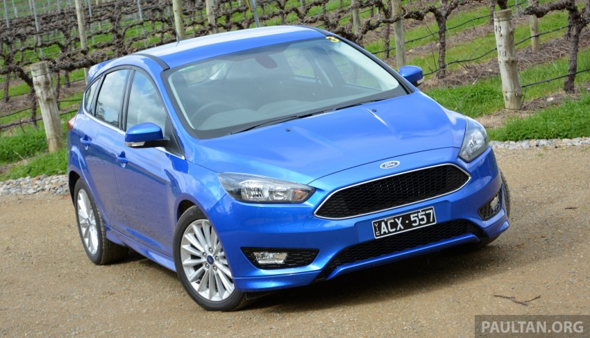 DRIVEN: C346 Ford Focus 1.5L EcoBoost in Adelaide Image #377320