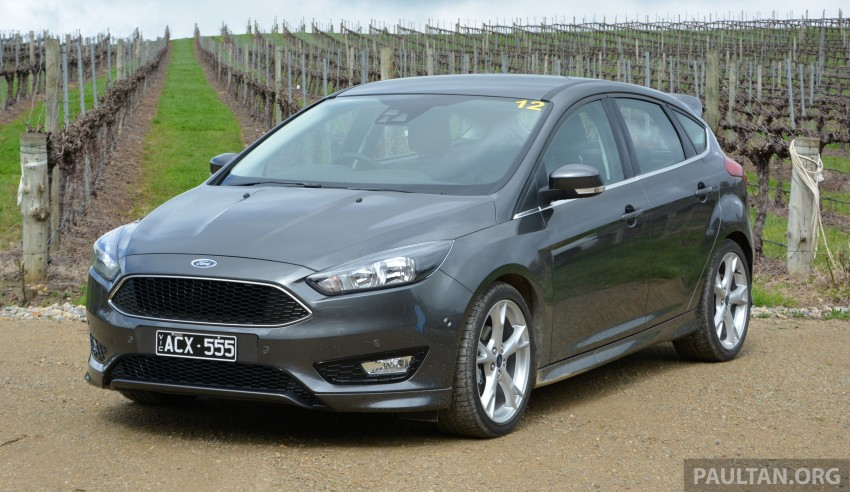 DRIVEN: C346 Ford Focus 1.5L EcoBoost in Adelaide Image #377321