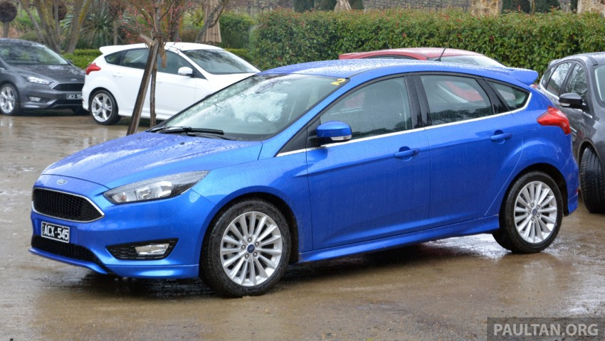 DRIVEN: C346 Ford Focus 1.5L EcoBoost in Adelaide Image #377360