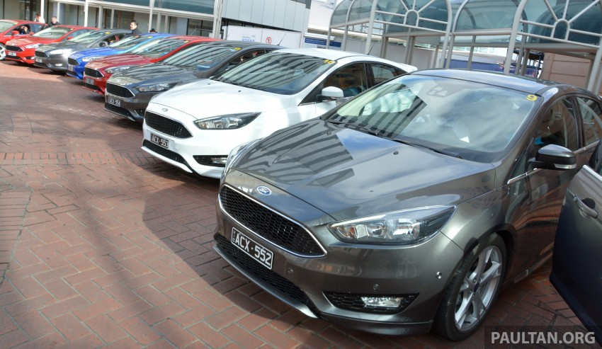 DRIVEN: C346 Ford Focus 1.5L EcoBoost in Adelaide Image #377325
