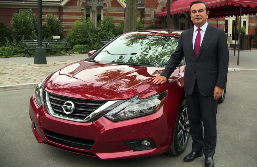 Nissan Altima facelift revealed; Teana to get revamp? Image #382807