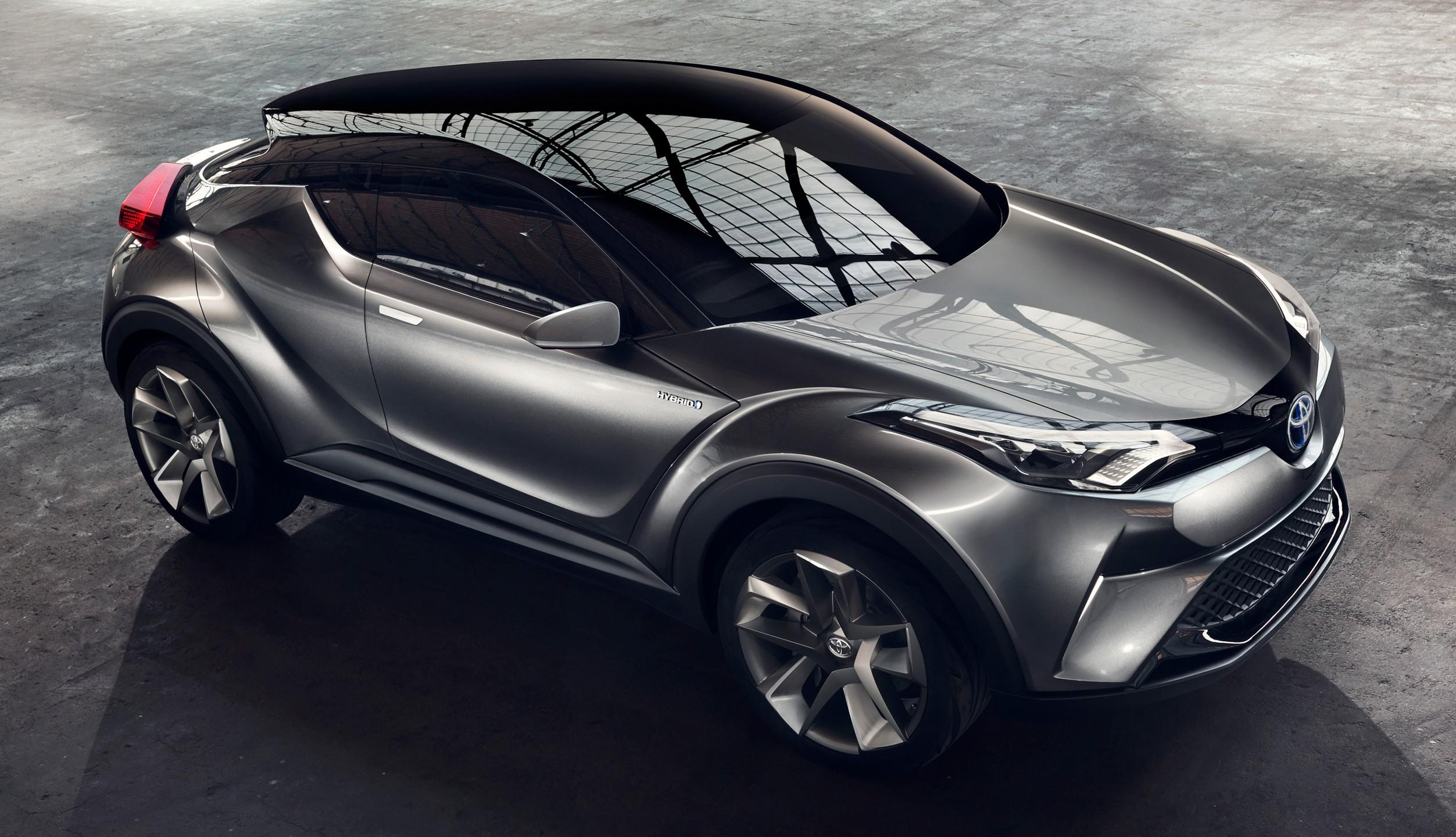 Toyota 2018 Chr >> Frankfurt 2015: Toyota C-HR Concept now with five doors ...