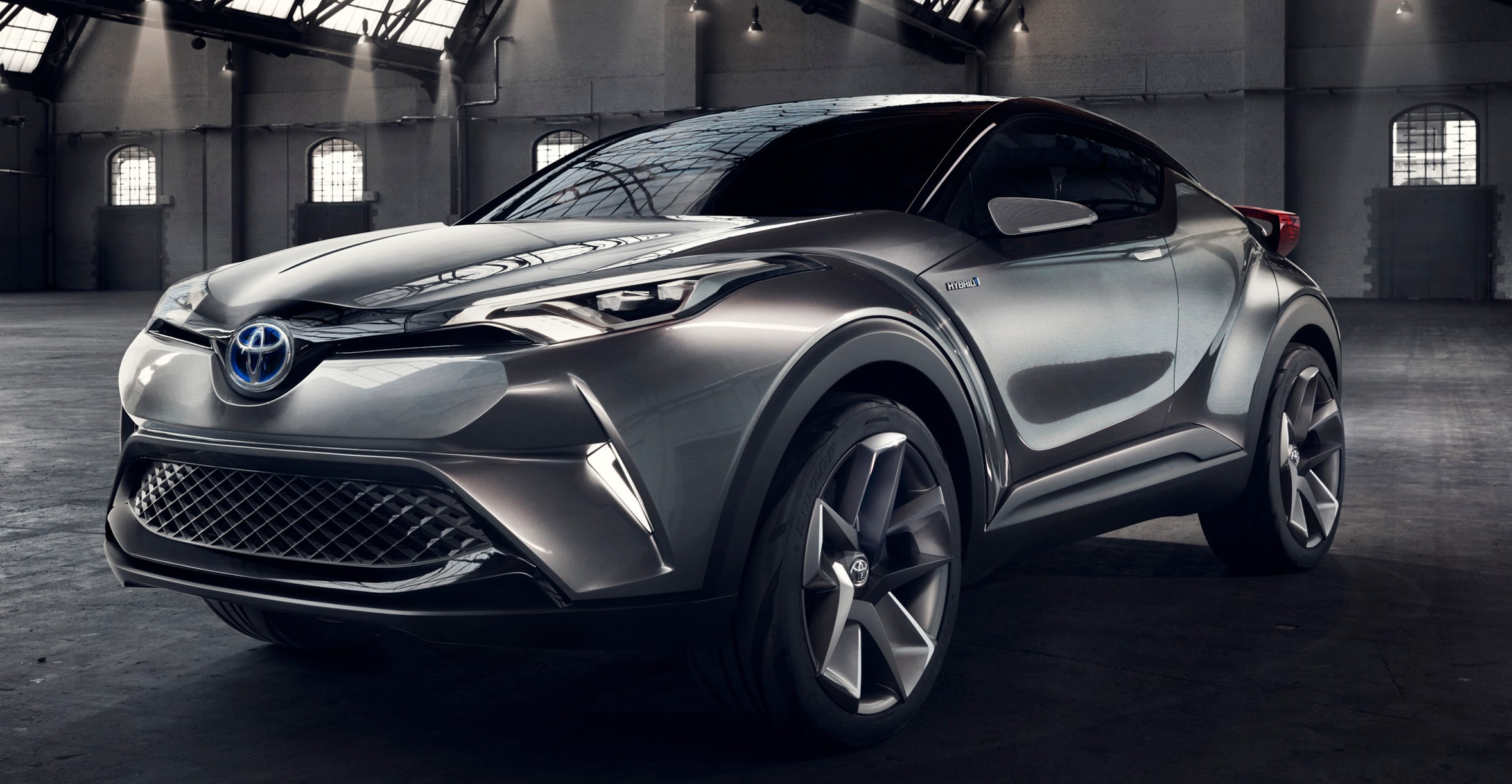 frankfurt 2015 toyota c hr concept now with five doors production suv to debut at geneva 2016. Black Bedroom Furniture Sets. Home Design Ideas