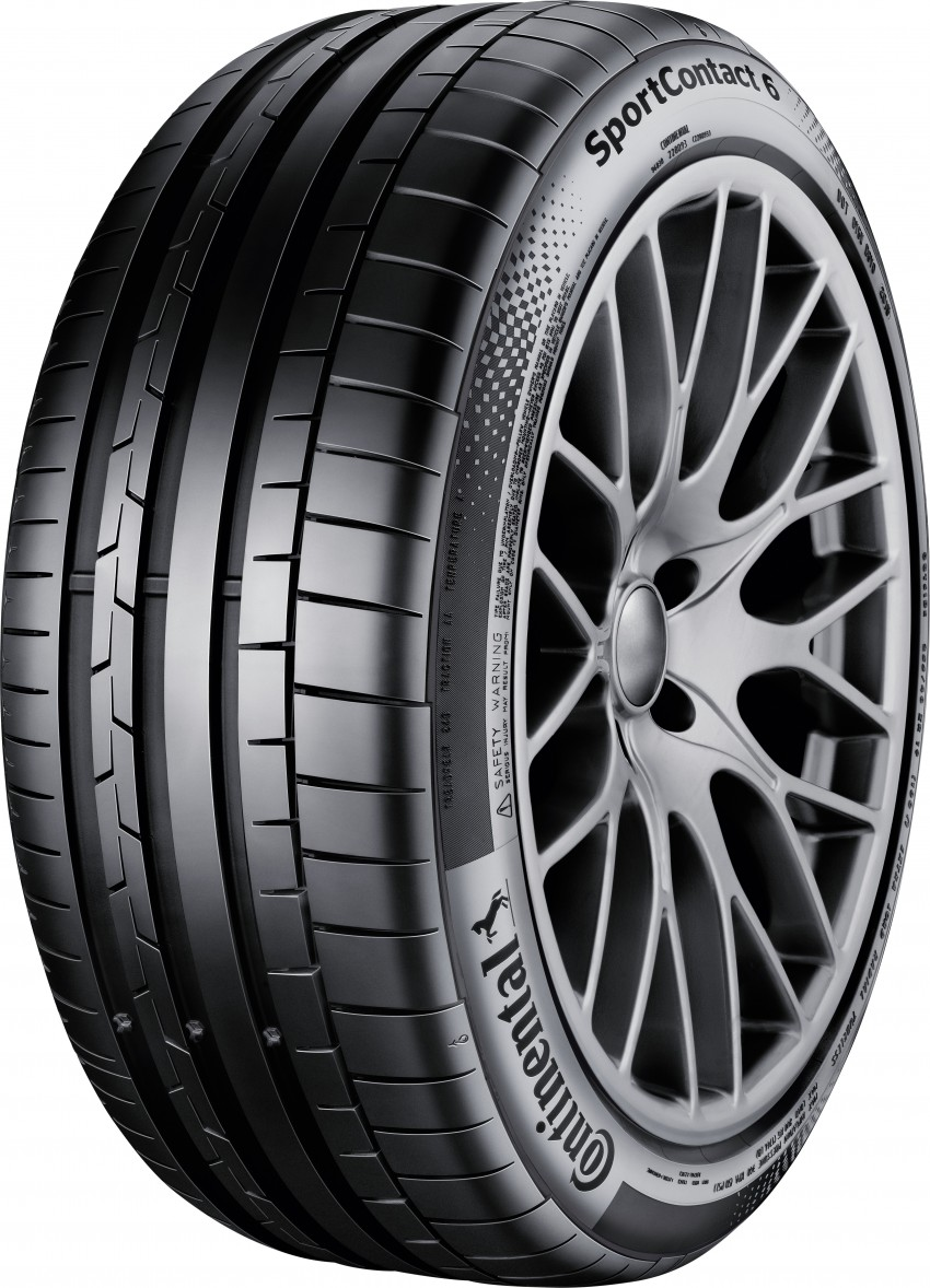 Continental SportContact 6 UHP tyre introduced Image #374286