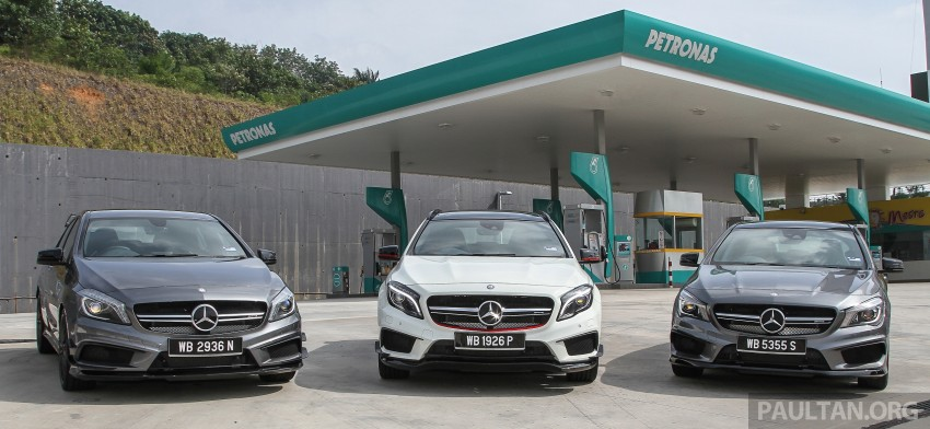 Driven Web Series 2015 #1: AMG's pocket rockets – Mercedes-Benz A 45 vs CLA 45 vs GLA 45 AMG Image #385840
