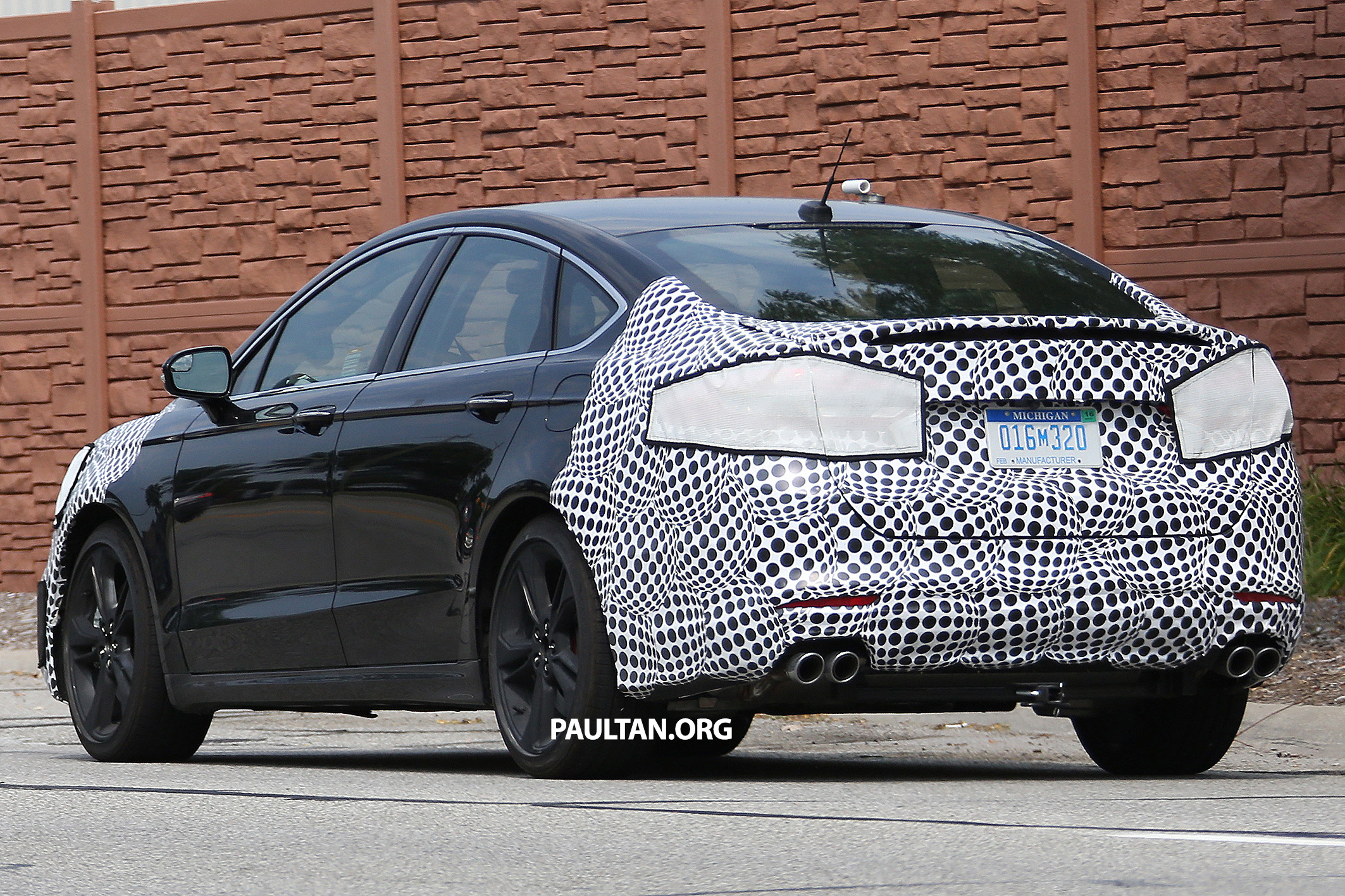 SPIED Ford Mondeo Fusion ST – fifth gen s sporty Paul Tan