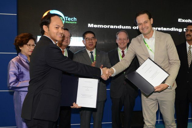GreenTech Malaysia and The New Motion MoU signing