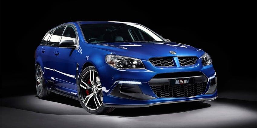 Holden HSV Gen-F2 range unveiled Down Under Image #382601