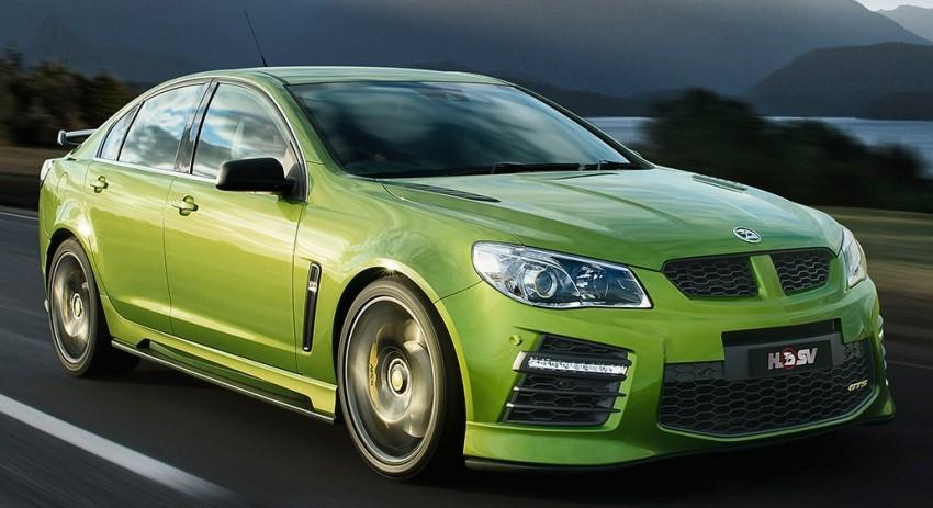 Holden HSV Gen-F2 range unveiled Down Under Image #382613