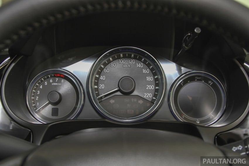 GALLERY: Honda City 1.5 V in Dark Ruby Red Pearl Image #375315