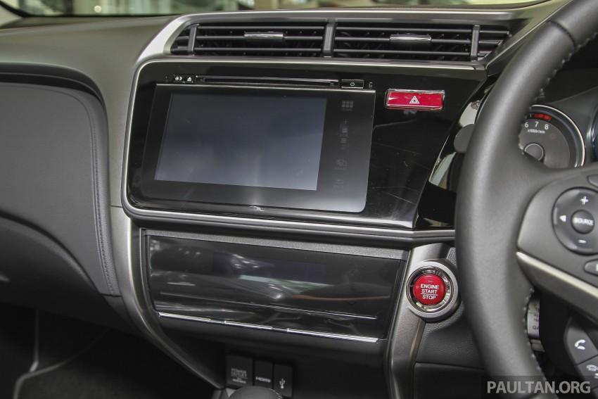 GALLERY: Honda City 1.5 V in Dark Ruby Red Pearl Image #375316