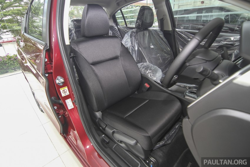 GALLERY: Honda City 1.5 V in Dark Ruby Red Pearl Image #375318