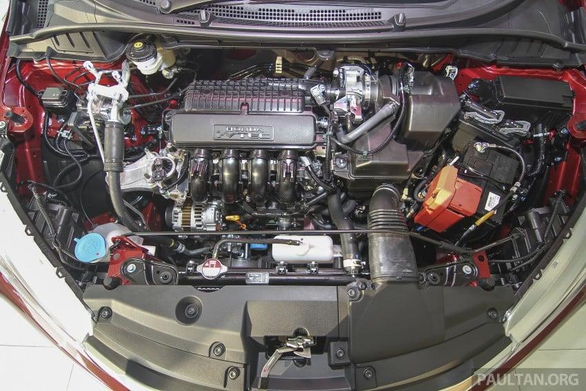 GALLERY: Honda City 1.5 V in Dark Ruby Red Pearl Image #375320