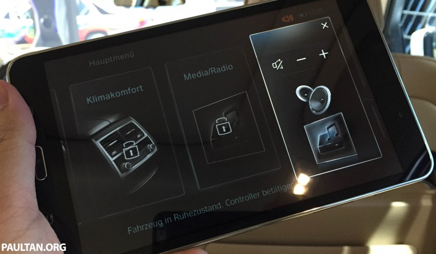 VIDEO: BMW Touch Command – a brief look at the BMW 7 Series Android-powered Samsung tablet Image #375381