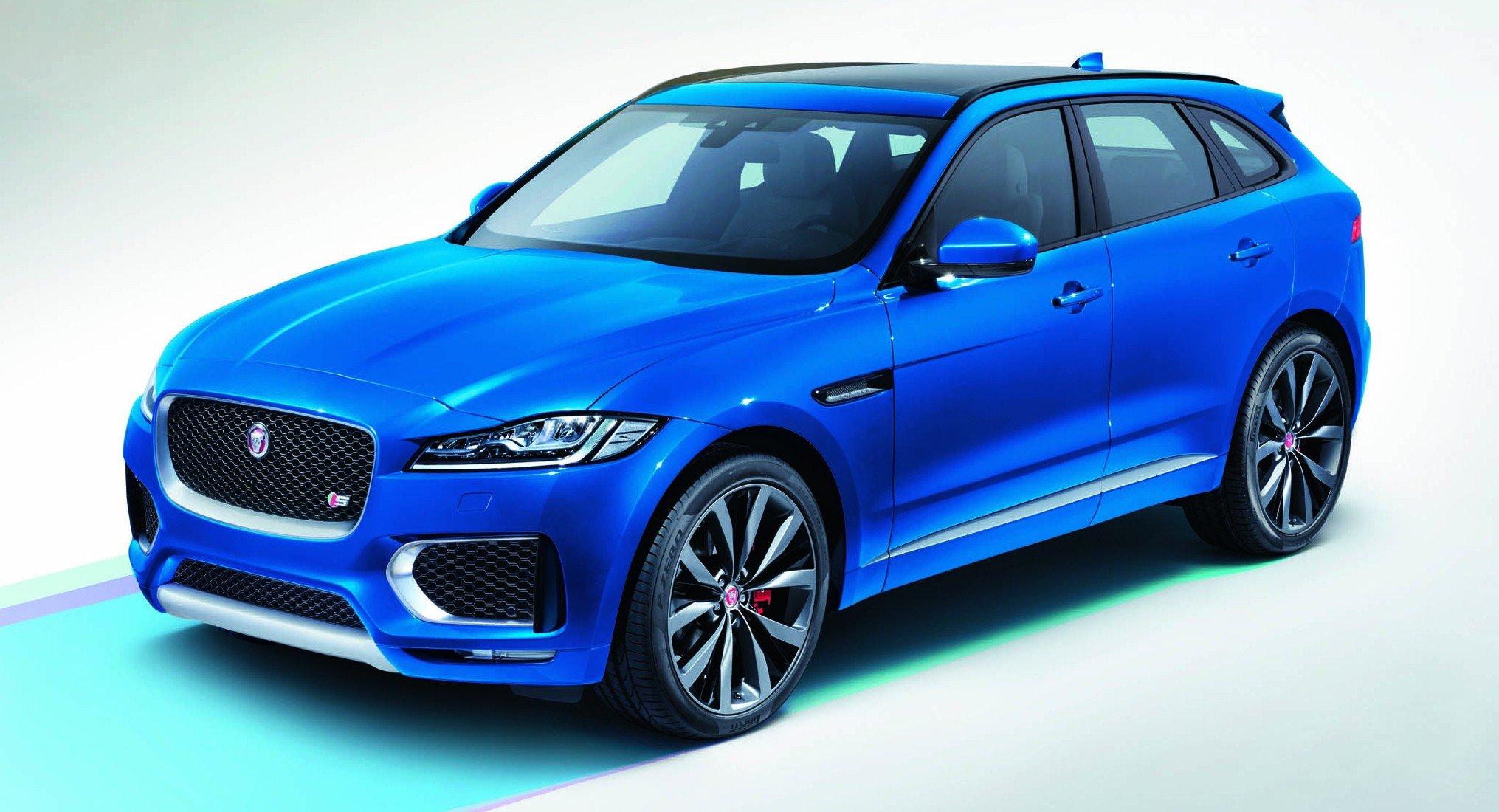 Обзор Jaguar F-Pace