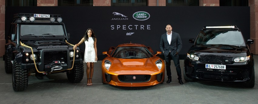 Jaguar Land Rover showcases its trio of Bond cars Image #380866