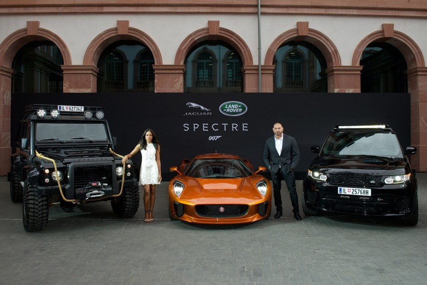 Jaguar Land Rover showcases its trio of Bond cars Image #380836