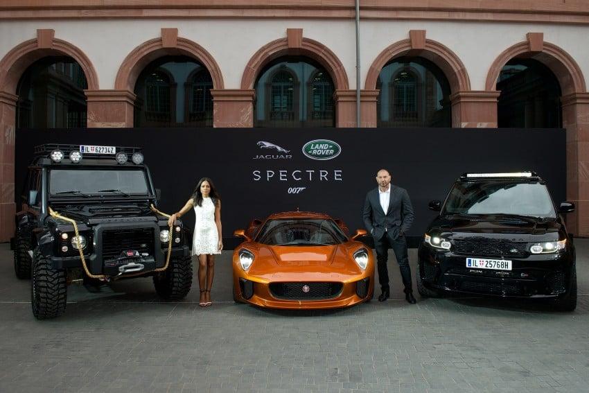 Jaguar Land Rover showcases its trio of Bond cars Image #380836