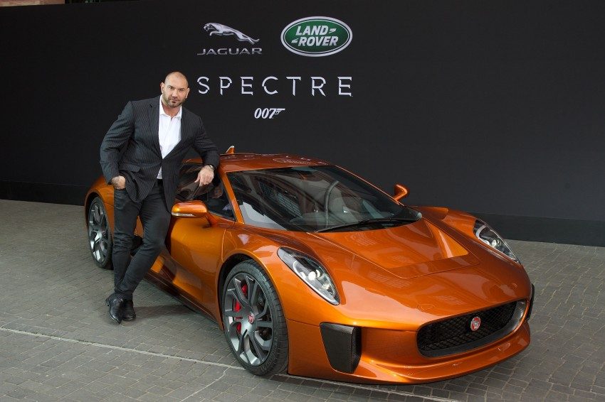 Jaguar Land Rover showcases its trio of Bond cars Image #380840