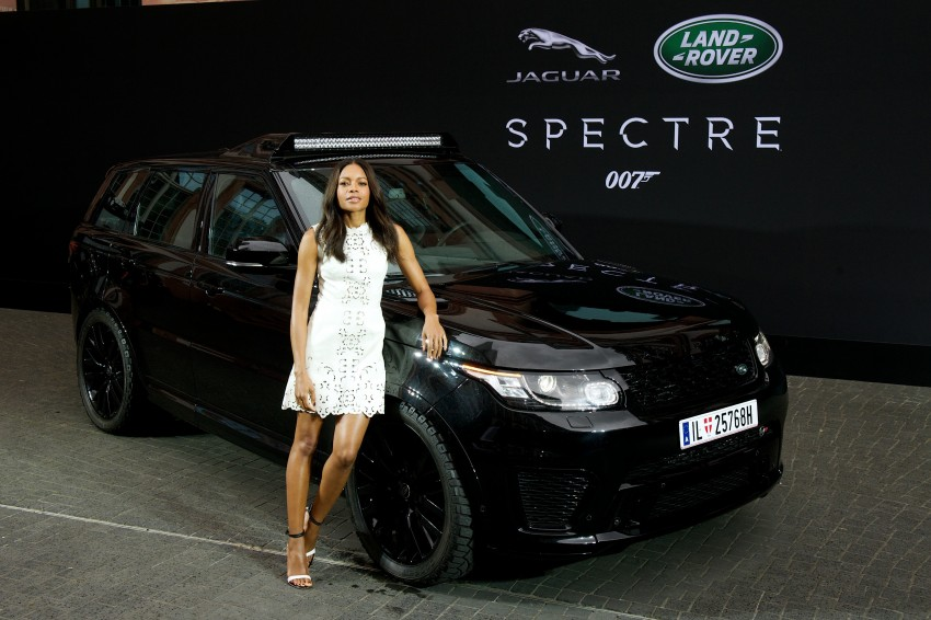 Jaguar Land Rover showcases its trio of Bond cars Image #380841