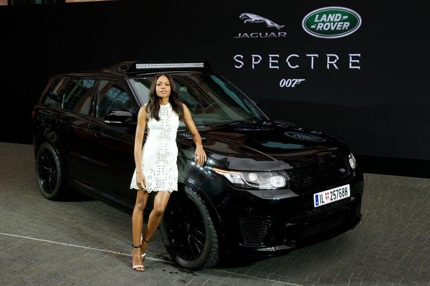 Jaguar Land Rover showcases its trio of Bond cars Image #380841