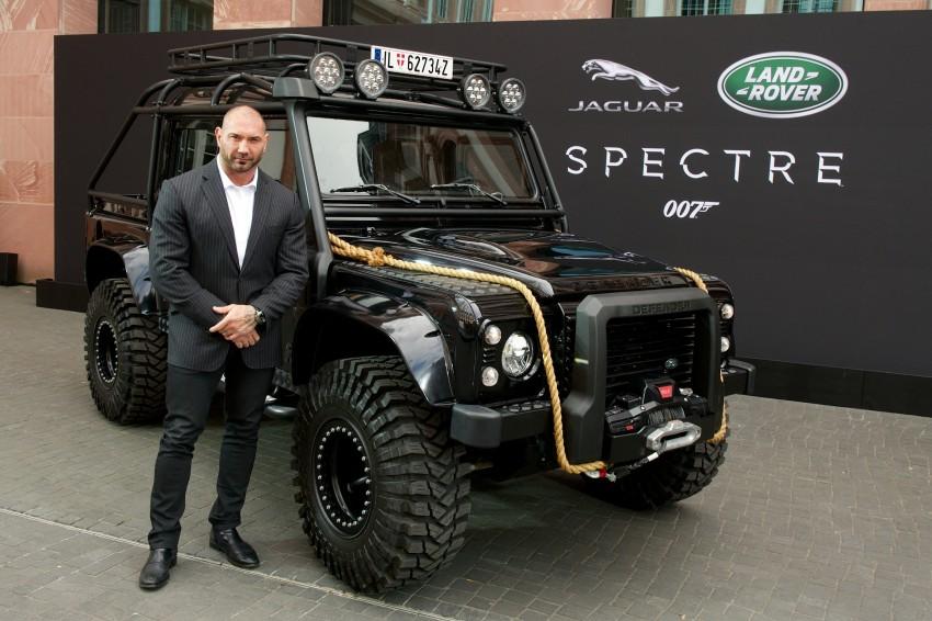 Jaguar Land Rover showcases its trio of Bond cars Image #380845