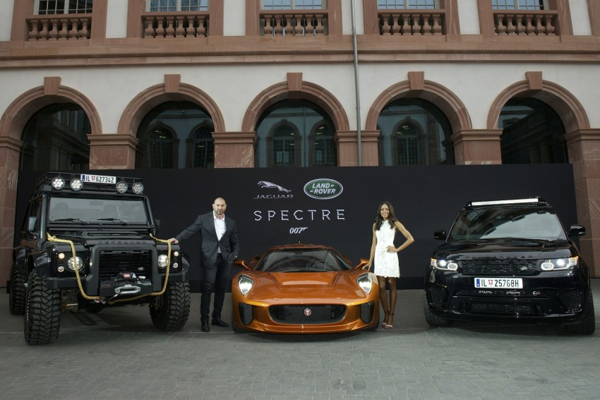 Jaguar Land Rover showcases its trio of Bond cars Image #380846