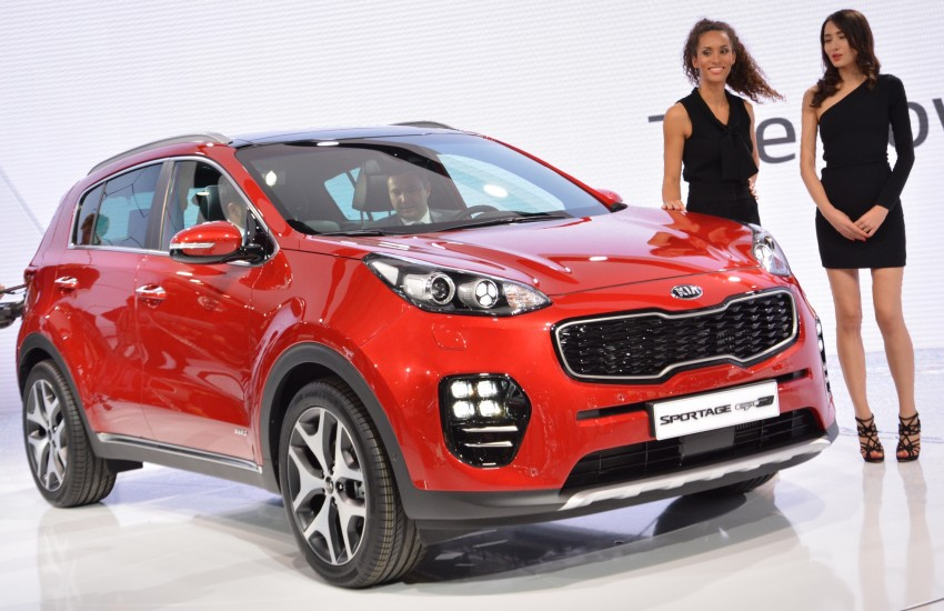 Frankfurt 2015: 2016 Kia Sportage unveiled in the flesh Image #380458