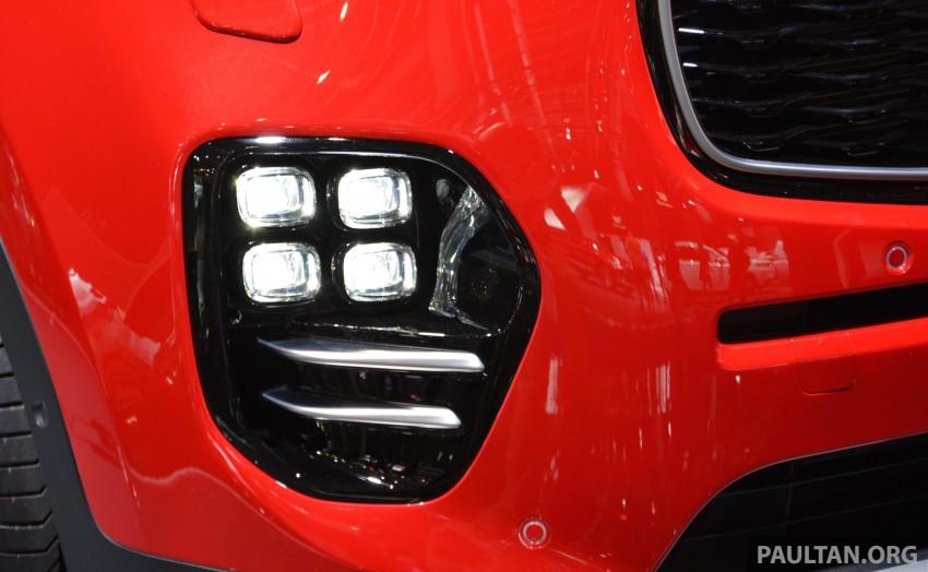 Frankfurt 2015: 2016 Kia Sportage unveiled in the flesh Image #380292
